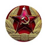 Soviet Union Red Star Keepsake (Round)