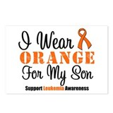 I Wear Orange Ribbon Postcards (Package of 8)