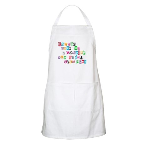 Edward Bite Me Twilight BBQ Apron