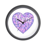 LOVE Mom Wall Clock