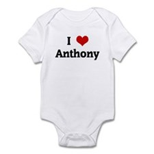 I Love Anthony Onesie
