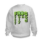 Forever Rely On God! Kids Sweatshirt