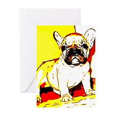 French Bulldog Art Greeting Card