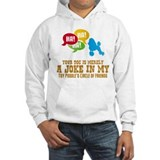Toy Poodle Jumper Hoody