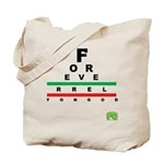FROG eyechart Tote Bag