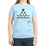 FROG eyechart Women's Light T-Shirt