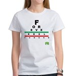 FROG eyechart Women's T-Shirt
