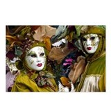 Venetian Masquerade Postcards (Package of 8)