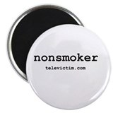 """nonsmoker"" 2.25"" Magnet (100 pack)"