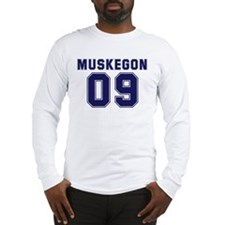 MUSKEGON 09 Long Sleeve T-Shirt