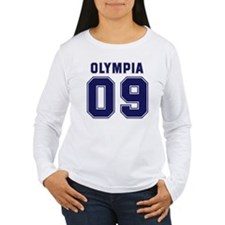 OLYMPIA 09 Women's Long Sleeve T-Shirt