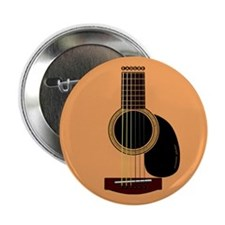 "acoustic guitar 2.25"" Button"