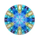&quot;Tribute to Chihuly&quot; Keepsake (Round)