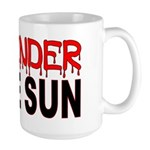 X OFFENDER In The SUN Large Mug