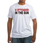 X OFFENDER Fitted T-Shirt