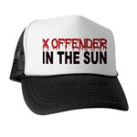 X OFFENDER In The SUN Trucker Hat