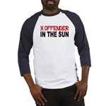 X OFFENDER In The SUN Baseball Jersey
