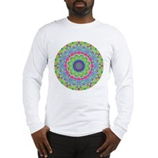 Pastel Mandala Long Sleeve T-Shirt