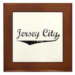 Jersey City Framed Tile