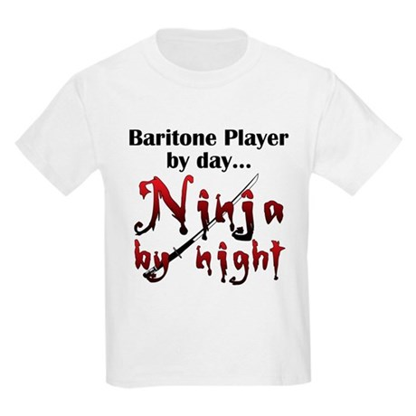 Baritone Ninja Kids Light T-Shirt