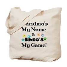 Grandma and Bingo Tote Bag