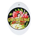 Pasadena California Keepsake (Oval)