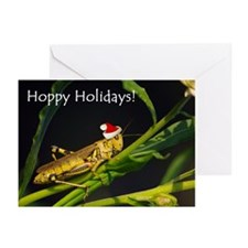 Grasshopper Santa Greeting Cards (Pk of 20)