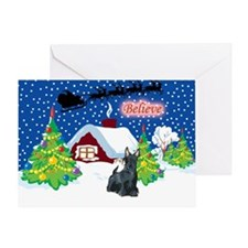 Believe Scottie Greeting Card