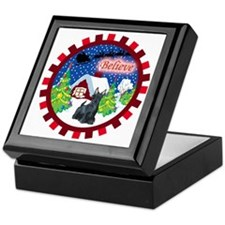 Believe Scottie Keepsake Box