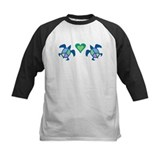 Peace Heart Sea Turtles Tee