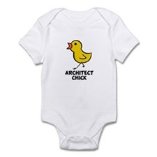 Architect Chick Infant Bodysuit