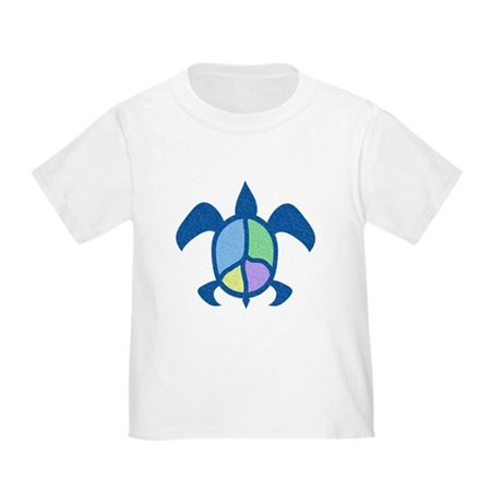 Peace Sea Turtle Toddler T-Shirt