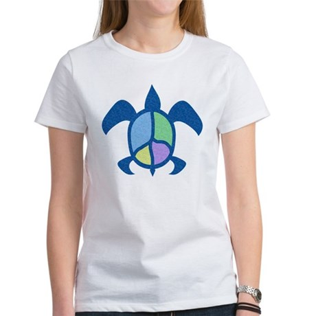 Peace Sea Turtle Women's T-Shirt