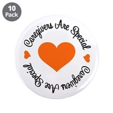 "Caregiver Are Special 3.5"" Button (10 pack)"