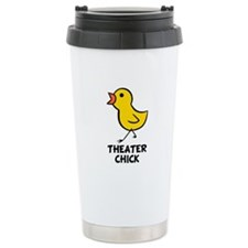 Theater Chick Ceramic Travel Mug