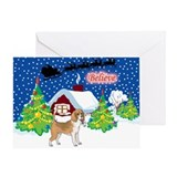 Believe Beagle Greeting Card