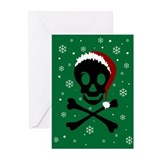 Christmas Pirate Skull (Pk of 10)