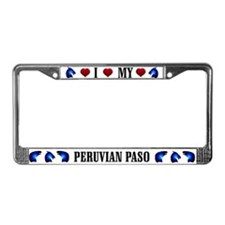 Paso License Plate Frame