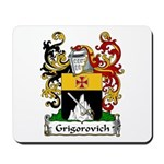 Grigorovich Family Crest Mousepad