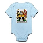 Grigorovich Family Crest Infant Creeper