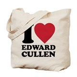 I Love Edward Cullens Tote Bag