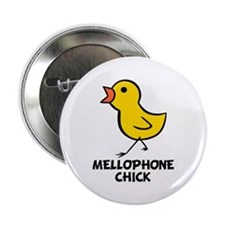 "Mellophone Chick 2.25"" Button"