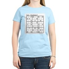 Got Sudoku? Women's Pink T-Shirt