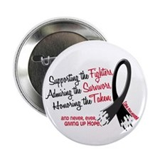 "Support Admire Honor MELANOMA 2.25"" Button (10 pac"