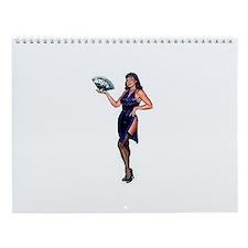 Unique Pin up Wall Calendar