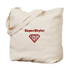 Super Hero Skyler Tote Bag