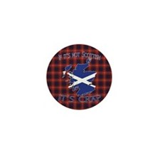 Not Scottish It's Crap #4 Mini Button (10 pack)