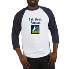 Eat. Sleep. Rescue. Baseball Jersey