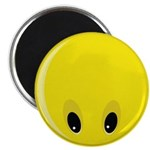 Smiley Face - Looking Down Magnet