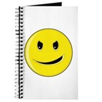 Smiley Face - Evil Grin Journal